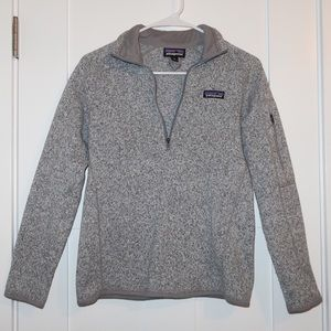 "Patagonia Better Sweater 1/4"" Zip Fleece"